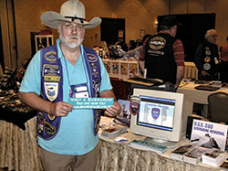 Bill Lee at the 2008 USSVI National Convention